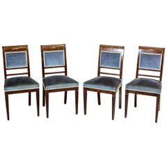 Mahogany Chairs in the Charles X Style, circa 1830