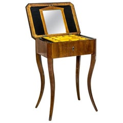Biedermeier Sewing Table, a Classic of the Style, circa 1860