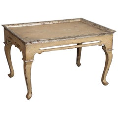 Venetian-Style Patina Tea Table