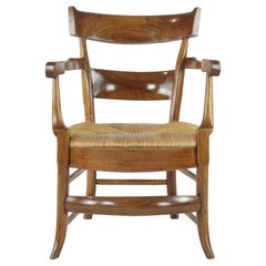 Comfortable Armchair, Cherrywood, 19th Century