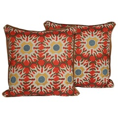 Pair of Tony Duquette Cushions