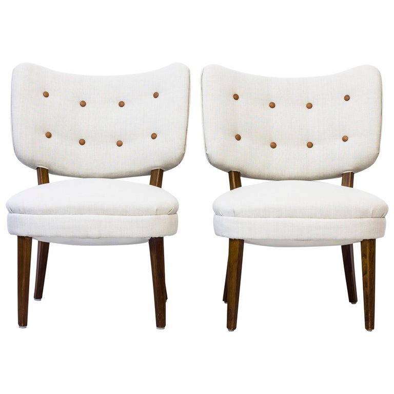 Easy Chairs by Otto Schulz for Boet, 1940s, Sweden