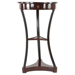 19th Century Side Table, France, circa 1830-1840, Mahogany Veneered