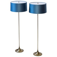 Floor lamps by Alf Svensson & Yngvar Sandström for Bergboms, Sweden, circa 1961