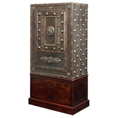 19th Century Italian Iron Safe