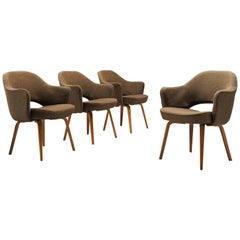 Eero Saarinen Set of Four Executive Chairs for Knoll