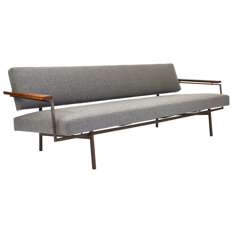 Rob Parry Sofa Daybed for Gelderland with New Upholstery, circa 1950