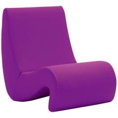 Vitra Amoebe Chair in Magenta by Verner Panton