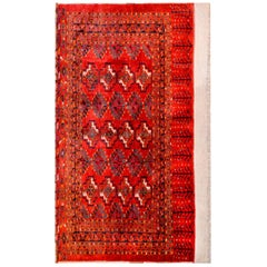 Early 20th Century Turkoman Bag Face Rug