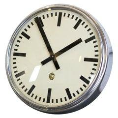 German Factory Clock, circa 1950s