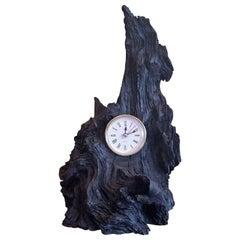 Irish Bog Oak Clock