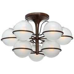Rare Ceiling Fixture #2109 by Gino Sarfatti for Arteluce