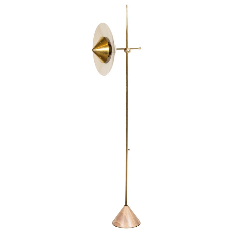 Pruckel Floor Lamp by Lawson-Fenning For Sale