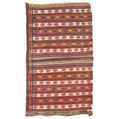 Vintage Persian Sofreh Kilim