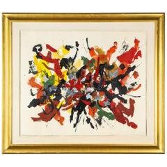 """""""Summer,"""" Oil on Paper by John von Wicht"""