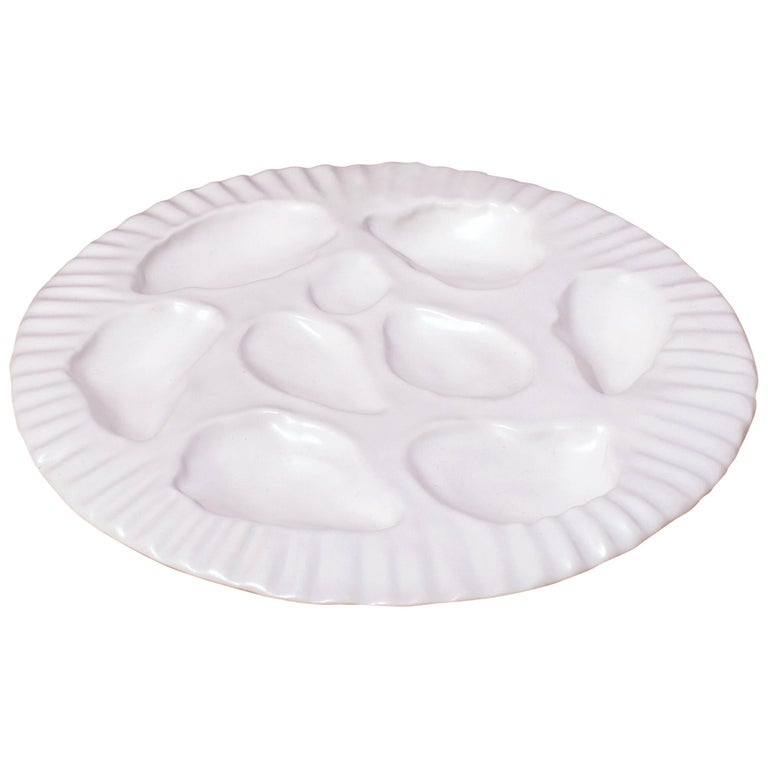 Oyster Plate, Set of 4 For Sale