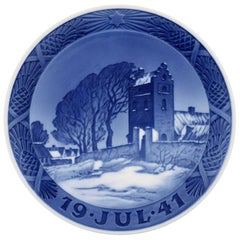 Royal Copenhagen, Christmas plate from 1941
