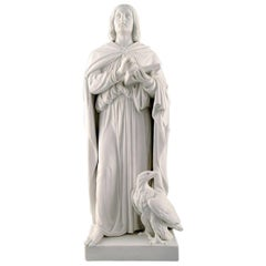 Rare Large Antique Royal Copenhagen Figure /Disciple /Apostle after Thorvaldsen