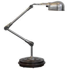 Industrial Task Lamp by Fostoria USA, circa 1940s
