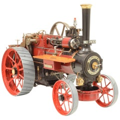 Live Steam Scale Model Steam Traction Engine