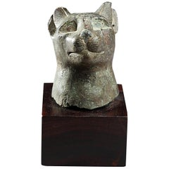 Bast Head, Egypt, Late Period or Ptolemaic Period