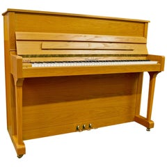 Woodchester Piano, Handmade in England with Bleached Oak Cabinet