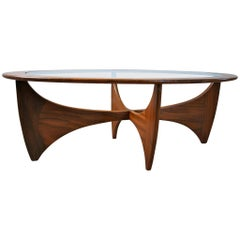 G-Plan Asrtro Oval Teak Coffee Table