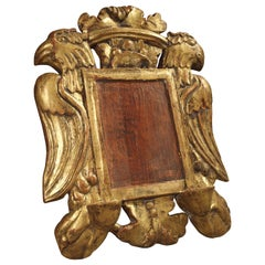 Antique Giltwood and Painted Book Stand from Spain, 18th Century