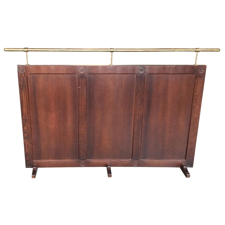 Pair of Art Deco Restaurant or Bistro Screens For Sale at 1stdibs