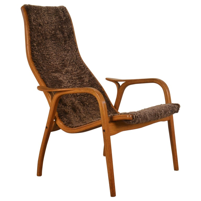 Armchair Lamino Swedese, designed by Yngve Ekström, 1960s
