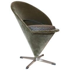 Vintage Verner Panton 'Cone' Chair