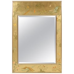 La Barge Chinoiserie Style Mirror
