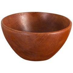 Large American Walnut Serving Bowl