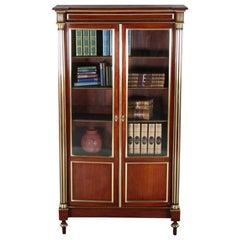 French Napoleon III Bookcase
