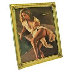 Brass and Glass Picture Frame
