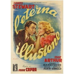 """You Can't Take It with You / L'eterna Illusione"" Italian Film Poster"