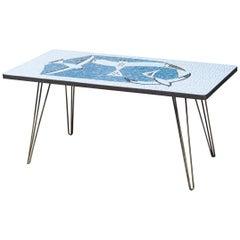 Mosaic Seagull Coffee Table
