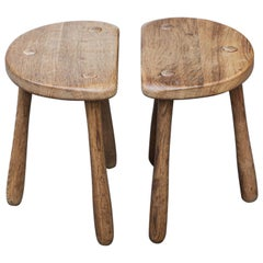 Stilmobler Oak Stool Set of 2