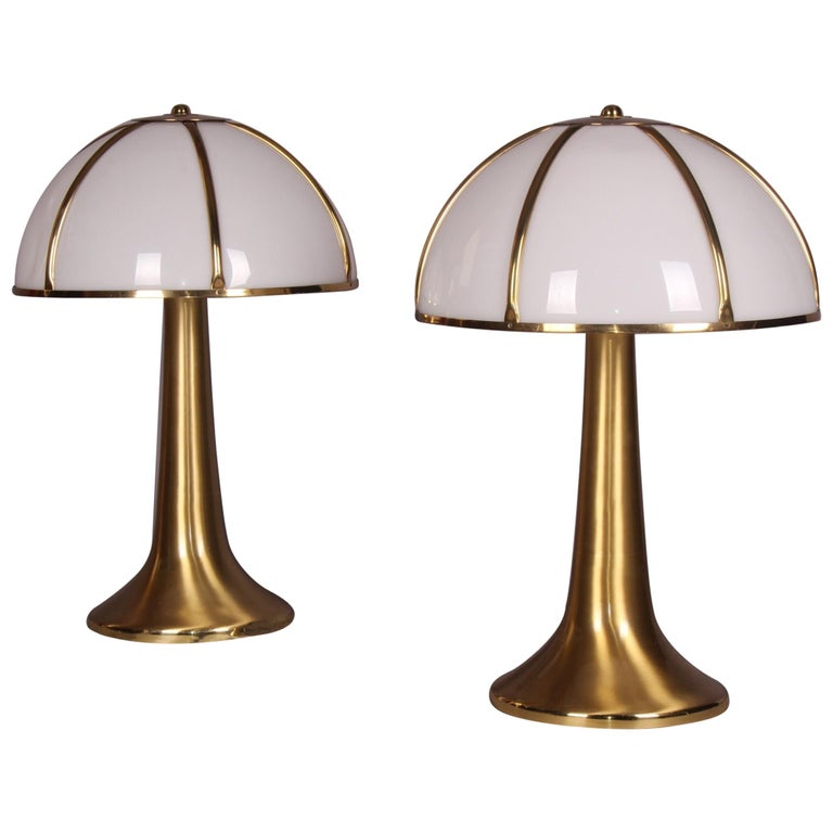 "Gabriella Crespi, Pair of ""Fungo"", Table Lamp, 1970"