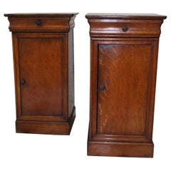 Pair of French Bedside Cabinets or Nightstands