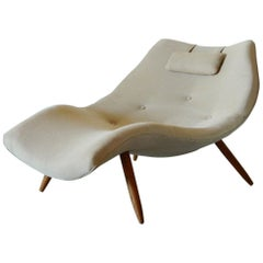 American Mid-Century Modern Chaise by Adrian Pearsall
