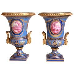 Antique Pair of Sèvres Vase French, 1772