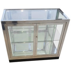 Pair of Pace Collection Low Vitrines or Cabinets