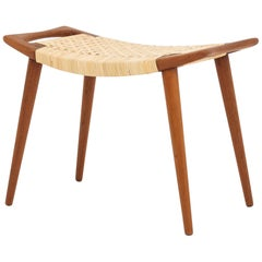 Stool in Teak by Hans J. Wegner