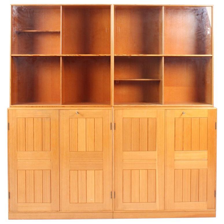 Mogens Koch Bookcases In Oregon Pine