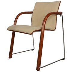 1980s Thonet Design S320 Armchair by Ulrich Böhme and Wulf Schneider