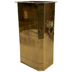 Brass Planter or Beverage Cooler