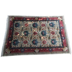 Traditional Turkish Wool Extra Large Rug
