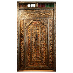 Unique 1900s Camel bone Large Door