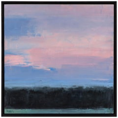 Mary J O'Gara Signed Oil Paintin, Eastern Sky